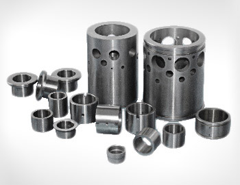 Tungsten carbide sleeve