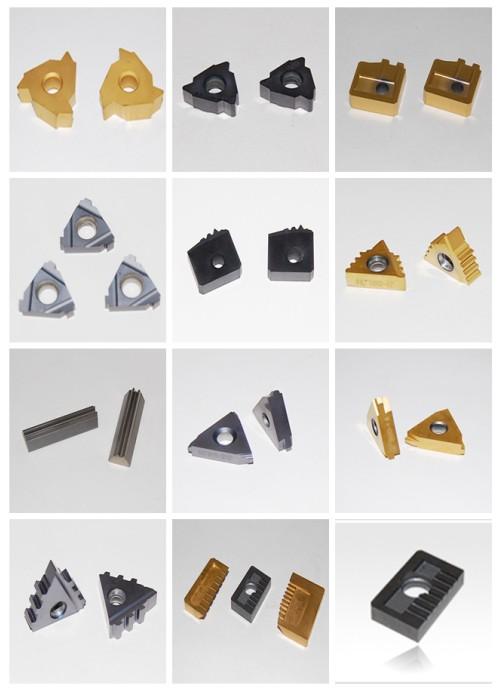Tungsten carbide inserts