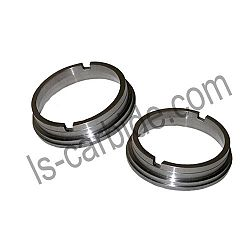 Carbide sealing rings