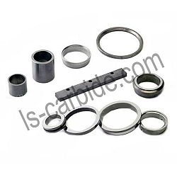 Hard alloy carbide ring
