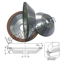 12 A2-45° Cup grinding wheel JR002 BW1
